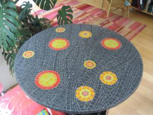 commande table diamètre 85 CM